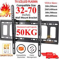 TILT TV WALL BRACKET MOUNT LCD LED PLASMA 32 42 50 55 UP TO 70 INCH SONY SAMSUNG