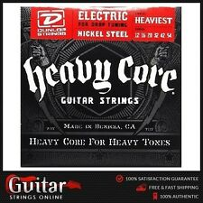 Dunlop Heavy Core Electric Guitar strings Heaviest For Drop Tuning 12-54