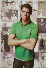 "CRISTIANO RONALDO ""GREEN SHIRT"" POSTER-REAL MADRID C.F."