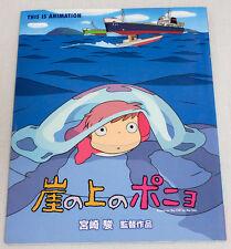 Ponyo on the Cliff by the Sea Japanese Film Comic Book Ghibli JAPAN ANIME MANGA