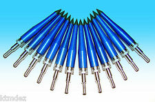12 Vintage Satellite Blue Streak Five Blade Broadheads OLDSTOCK!!!NEW!!!NICE