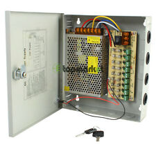 Surveillance 9 Port DC12V Power Supply Distribution Box for CCTV Security Camera