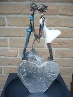 """Casablanca Design Skulptur """"Devotion"""" auf silbernem Herz 59954  Hochzeit Liebe"""
