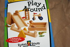 NIB OUTDOOR PLAYGROUND~RYANS ROOM TOYs~wood Dollhouse