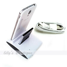 OTG Battery Charger Cradle Dock+USB Sync Data Cable for Galaxy S4 S3 I9500I9300