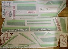 SUZUKI GSXR1100G SKOAL BANDIT RESTORATION DECAL SET 1986