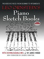 Leo Ornstein's Piano Sketch livres apprendre à jouer de la musique facile débutant livre MP3