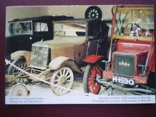 POSTCARD D2-5 DENBIGHSHIRE VINTAGE CARS AT ERDDIG MUSEUM