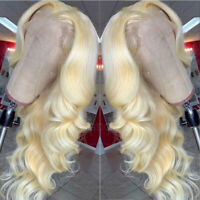 100% Real Remy 9A Brazilian Human Hair Wig 360 Lace Front/Full Lace Wig Blonde s