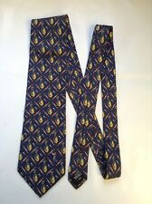 """Classic DUNHILL """"Golfing"""" Silk Tie M. I. Italy"""