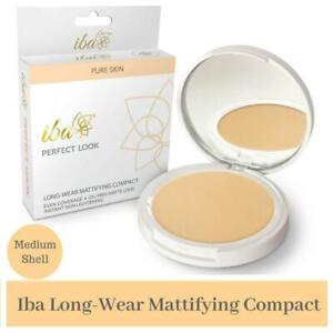 Iba Halal Care Perfect Look Long Wear Mattifying Compact Snow White