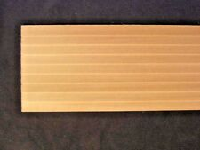 "Lap Siding 7039 - 3/8"" basswood 12"" long 1pc Houseworks 1/12 scale clapboard"