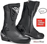 SIDI BLACK RAIN EVO Boots - Sidi Waterproof / Touring Motorcycle BOOTS £ 50 OFF
