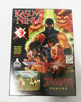 Kasumi Ninja Atari Jaguar brand new & Sealed ( Very Rare )