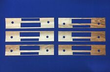 Bulk Buy 6 Ford XR GT Fairmont Radio Woodgrain Factory Replacement Panels Save!
