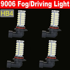 4Pcs Car White LED 9006 102-SMD Fog/Driving/Low Beam Headlight DRL Light Bulbs