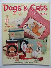 Dogs and Cats to Paint How-To Technique Booklet Puppies Kittens Animal Projects
