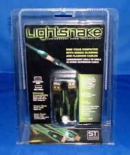 LIGHTSNAKE STUSBEXT6 USB-A TO USB-A EXTENSION CABLE - LIGHTS UP WHEN DATA PASSES
