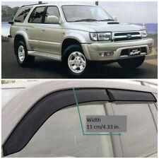TE28995 Window Visors Vent Wide Deflectors For Toyota Hilux Surf 5d 1995-2002