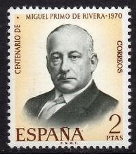 España estampillada sin montar o nunca montada 1970 SG2034 100th aniversario del nacimiento de Miguel Primo de Rivera