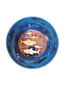 Sharks Plastic Cereal Bowl 6 Inch Blue