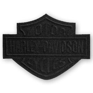 Harley-Davidson Aufnäher B&S Black groß