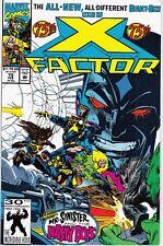 X-FACTOR  #75 1991 -MR. SINISTER & NASTY BOYS GIANT-SIZE DAVID/HARRAS...FN/NM