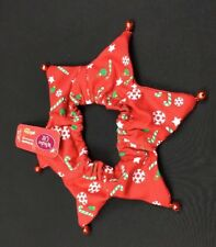 Whisker City Pet Holiday Cat Small Dog Jingle Neckwear Candy Cane Snowflake Elf