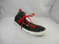 Converse All Star Chuck Taylor Black Patent Leather Hi Top Sneakers Size Men 13