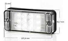 LED Rückfahrleuchte Rückfahrlicht Rücklicht Rückfahrlampe Weiss 12/24V Nr 702