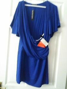 Ladies Blue Top Size 16 Brand New With Tags