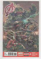 Avengers (Volume 5) #13 Captain America Wolverine Hulk Iron Man Spiderman 9.6