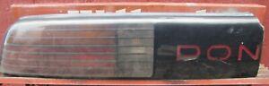 1987 PONTIAC FIERO GT LEFT TAILLIGHT ASSEMBLY TAIL LIGHT PON *A2PS