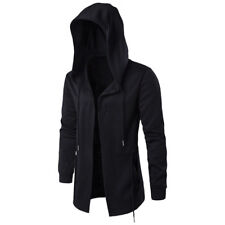 Stylish Men Cosplay Creed Hoodie Cool Coat For Assassins Cagoule Jacket Costume
