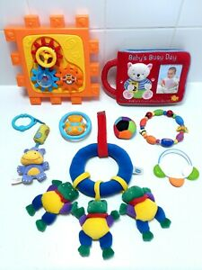 Baby Sensory Toy Bundle With Soft Baby Photo Book