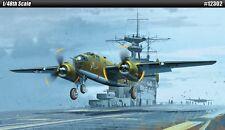 Academy 12302 Plastic Model Kits 1/48 USAAF B-25B Doolittle Raid  Military NIB