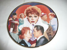 LUCY COLLECTION PLATE HAMILTON COLLECTION BY MORGAN WEISTLING I LOVE LUCY  1992