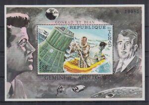 J838. Chad - MNH - Space - Apollo 12 - Bl.