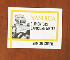 New Battery Shoe Mount LIGHT METER Yashica YEM 35 Super W CASE