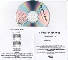 FLYING SAUCER ATTACK INSTRUMENTALS 2015 RARE 15 TRACK PROMO CD