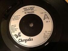ULTRAVOX . LOVE'S GREAT ADVENTURE . Classic Hit 1984  MINT