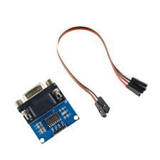 MAX3232 RS232 Serial Port To TTL Converter Module DB9 Connector With Cable GU