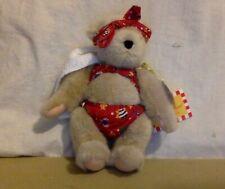 """VanderBear Stuffed Bear. """"Muffy At The Beach"""". Original Tag."""
