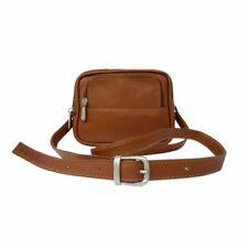 Corsa Miglia Leather Traveler's Camera Bag, Saddle, One Size, by Piel