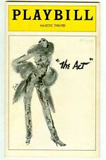 """Vintage 1978 Liza MINELLI in """"The ACT"""" at Majestic Theatre BROADWAY Playbill!"""