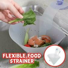 Kitchen Drain Sink Strainer Filter Food Catcher Foldable Anti-Blocking Device Lw