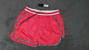 Size L with Pockets Red r r.p £50 REPLAY Mens Swimming Shorts