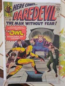 Daredevil #3 Silver Age The Owl