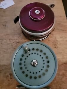 Vintage South Bend Oren-O-Matic Automatic Fly Fishing Reel and #1120 Fly Reel