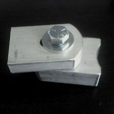 Pair of Small Aluminum Weldable Gate Hinge by Shut It